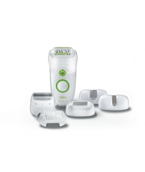 Braun Silk-épil 5 - 5780 Legs, Body and Face Epilator and Shaver with 5 attachments and Cooling Glove