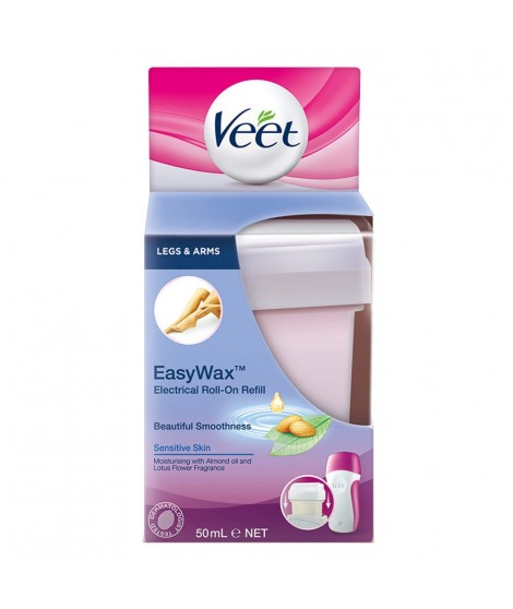 Veet Easy Wax Leg and Body Hair Remover Wax Refill 50ml